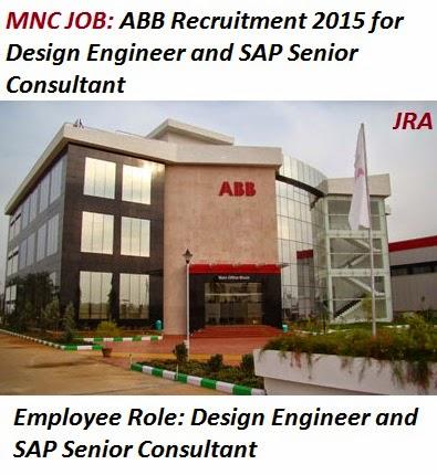 Job recruitment alerts abb recruitment 2015 for design for Design consultant jobs