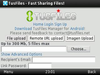 Cara mudah download tusfiles lewat Operamini HP
