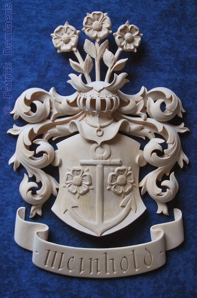 Ornamental woodcarver patrick damiaens