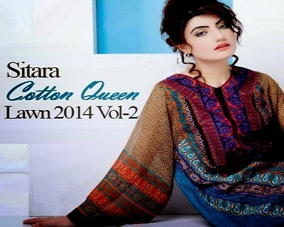 Sitara Cotton Queen Lawn Collection 2014