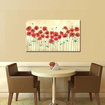 Tablou canvas cu flori