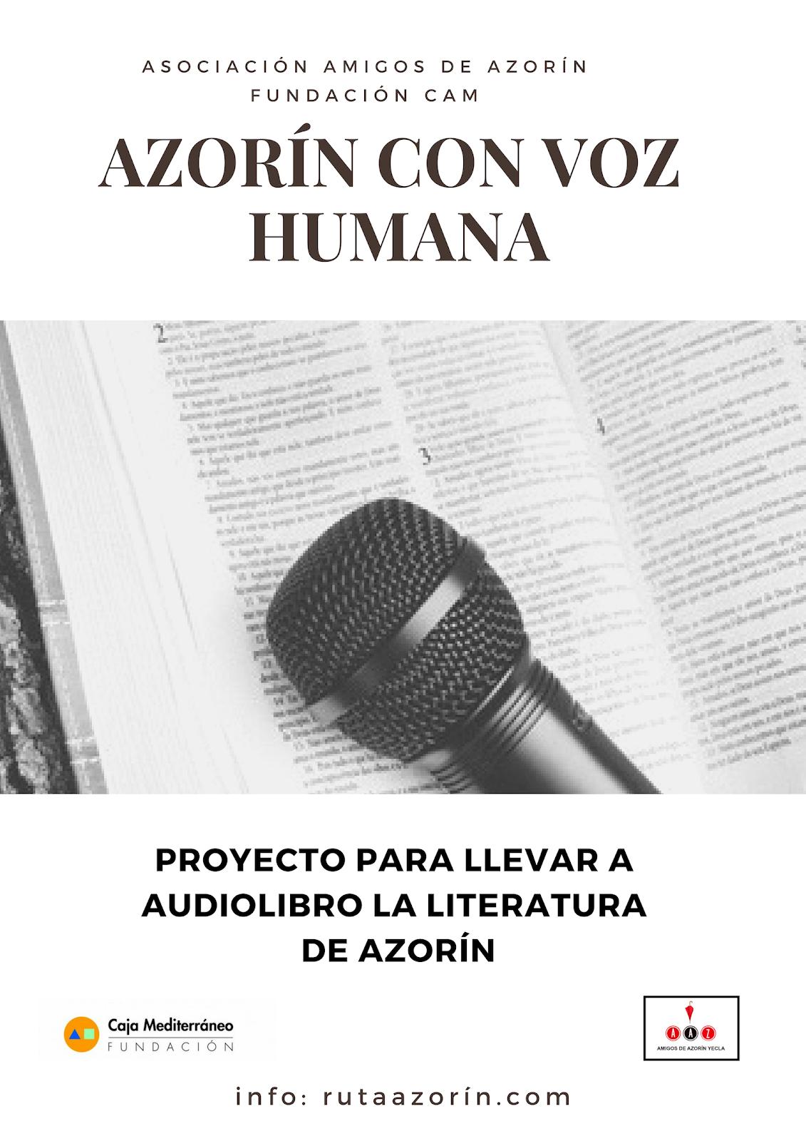 Azorín con Voz Humana