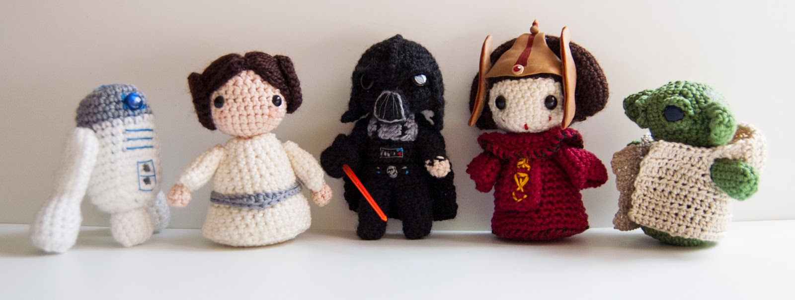 Amigurumi Sewing Machine Pattern : Reino Alfiler: Amigurumis saga star wars