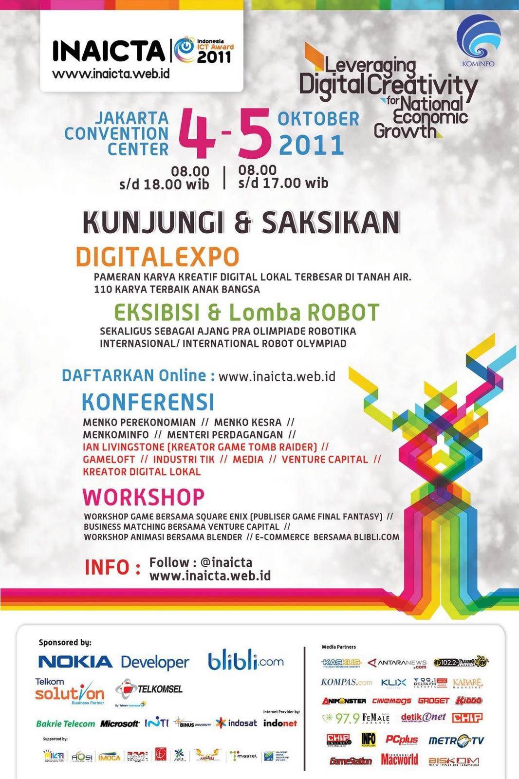 SKACI Pencetak Anak Jago Komputer Inaicta 2011 Jakarta