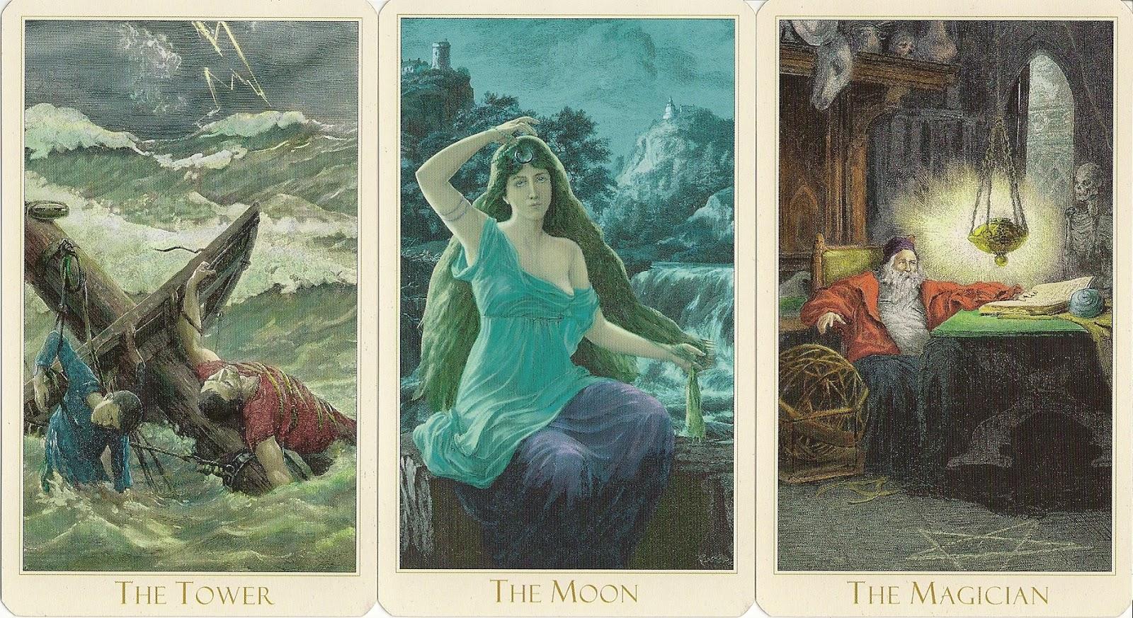 Eno\'s Tarots: Victorian Romantic Tarot - second edition
