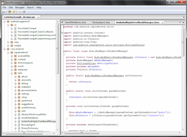 Screenshot jd-gui
