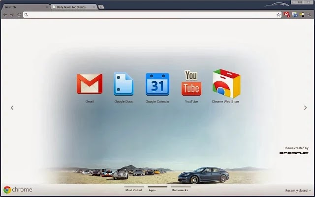 Porsche for Google Chrome