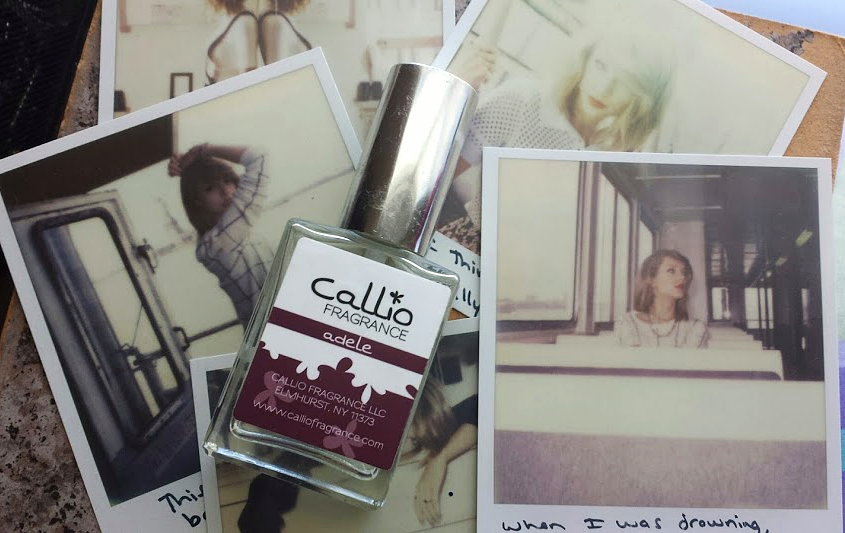 callio fragrance, adele, perfume, taylor swift, 1989, blank space, welcome to new york,  small business, independently owned, review