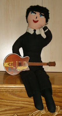 Beatles Official Mascot Doll by Remco