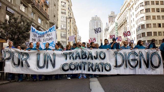 Firmado un acuerdo con las contratas de Telefónica, se desconvoca huelga