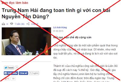 VOA đang lộ rõ âm mưu phá hoại chế độ chính trị Việt Nam_