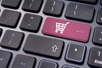 shopping cart button on computer keyboard