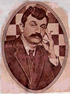 El ajedrecista Emmanuel Lasker