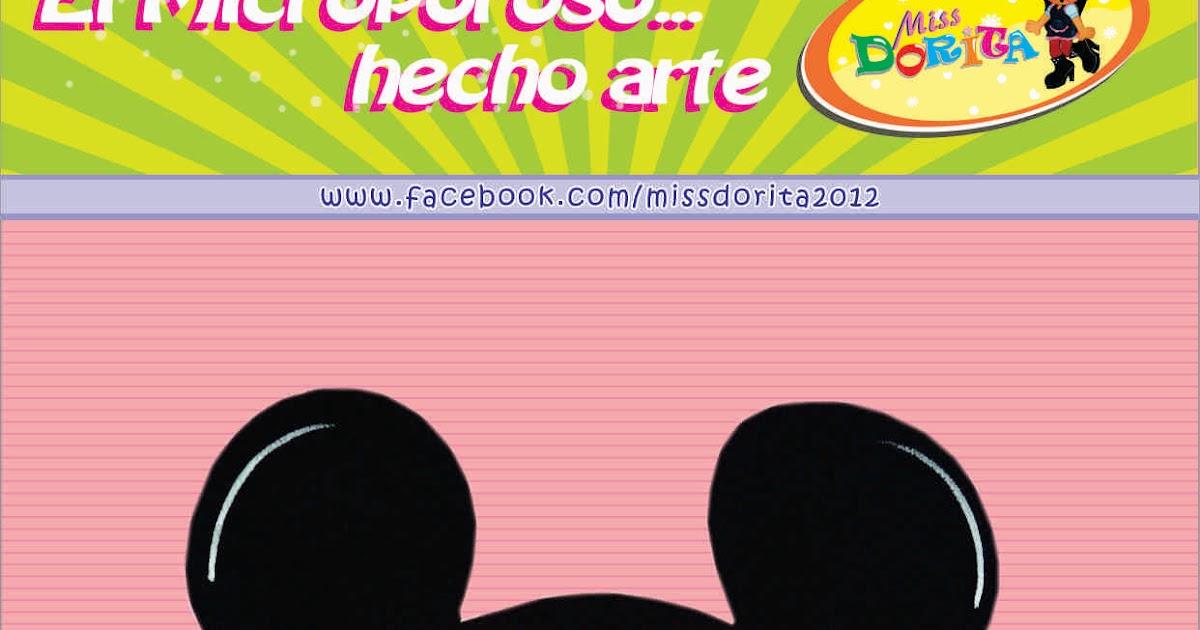 Miss Dorita: Portalapices Mickey Bebe: http://missdorita.blogspot.com/2015/08/portalapices-mickey-bebe.html