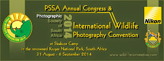 International Wildlife Photography Convention 31 Aug-6 Sept 2014 - Shem Compion -