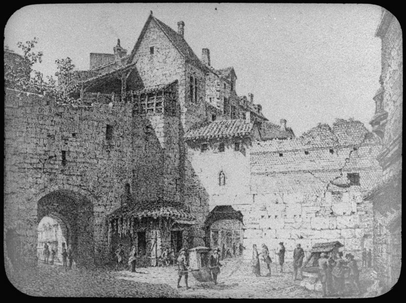 porte Toscanan et porte basse