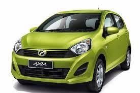 Senarai Harga Kereta Perodua Axia 2015