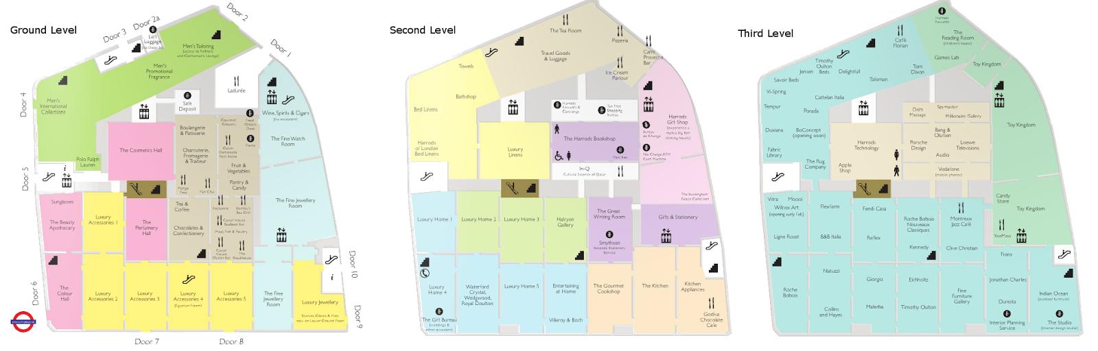 Harrods Floor Plan