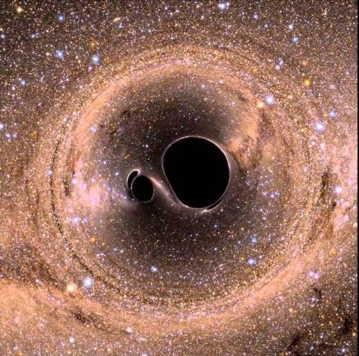 penggabungan lubang hitam