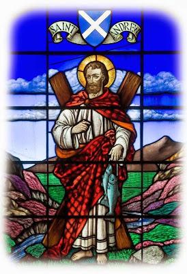 O legenda despre Sfantul Andrei in Scotia