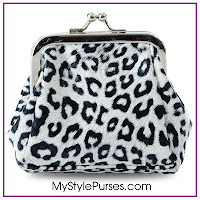 Miche Skylar Coin Purse - Snow Leopard Coin Purse