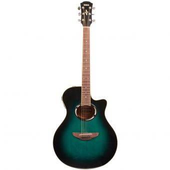 Yamaha Gitar Akustik Elektrik APX 500II - Oriental Blue Burst