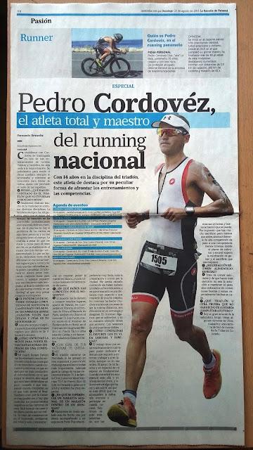 Pedro Cordovez triatlon