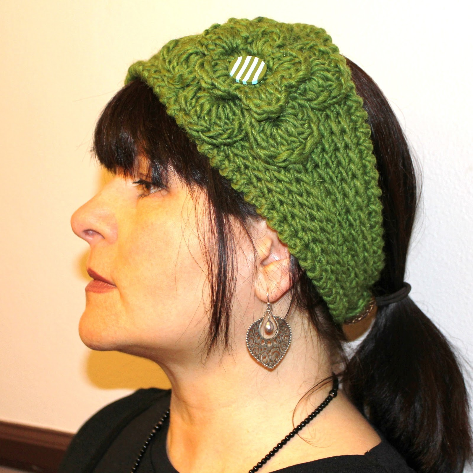 Free Crochet Patterns For Wide Headbands : Absolute Knits