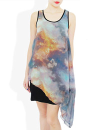 FIERY GALAXY DRESS
