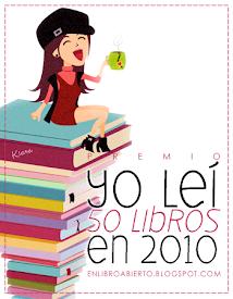 YO LEI 50 LIBROS EN 2010