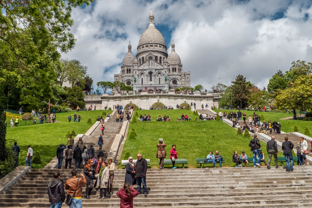 Paris France Sacred Heart Basilica
