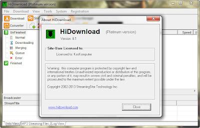 hidownload platinum 8.1