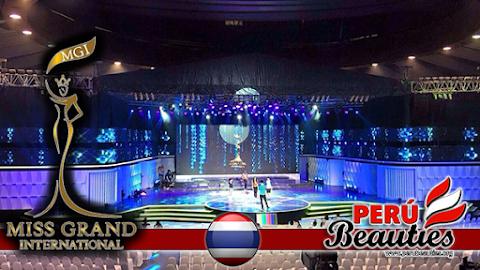 Último ensayo antes de las preliminares - Miss Grand International 2015