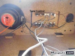 tone control speaker aktif