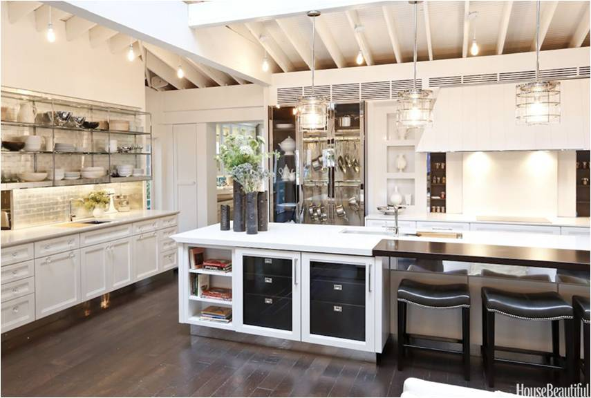 Check Out This House Beautiful Kitchen Of The Year It Is Loaded With Extra Storage Throughout This Grand Kitchen I Love All The Cabinet Space And The Open
