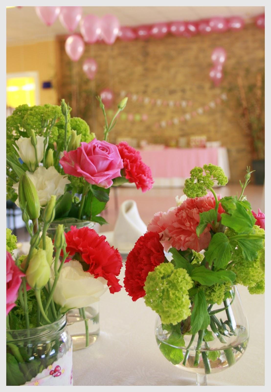 Cosas con encanto fiesta de primera comunion con candy for Arreglos de mesa con dulces