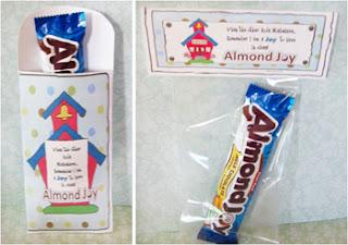 "Candy Sayings ""Teacher's Almond Joy"" Employee Spotlight Ideas"