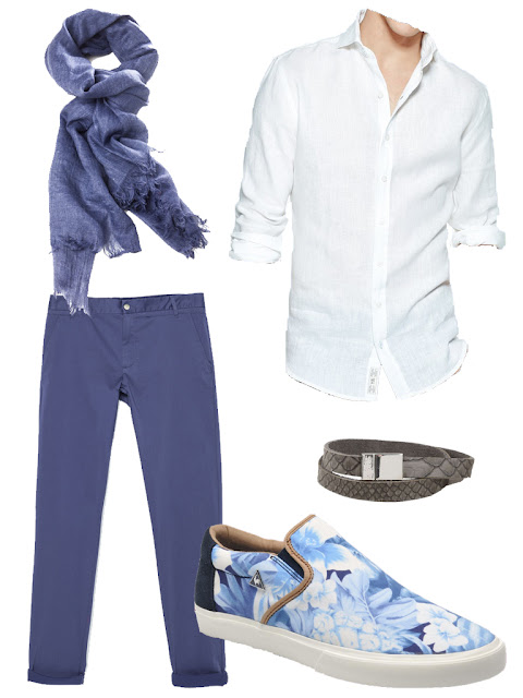 summer night men outfit
