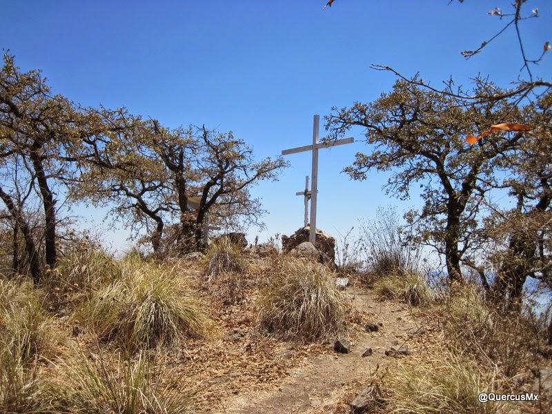 Cruces blancas en la Sierra del Tecuán