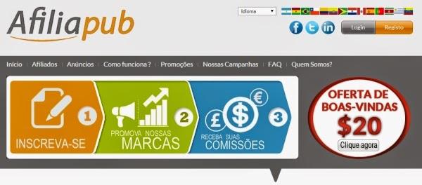 Afiliapub- Programa de Afiliados de jogos e apostas online