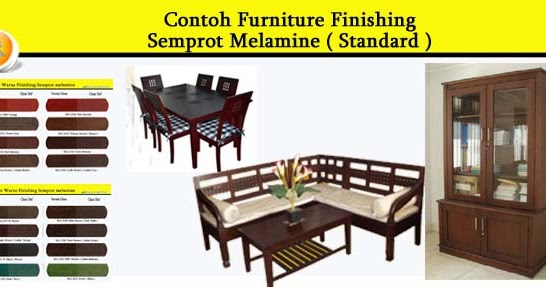 contoh furniture semprot melamine 2 allia furniture