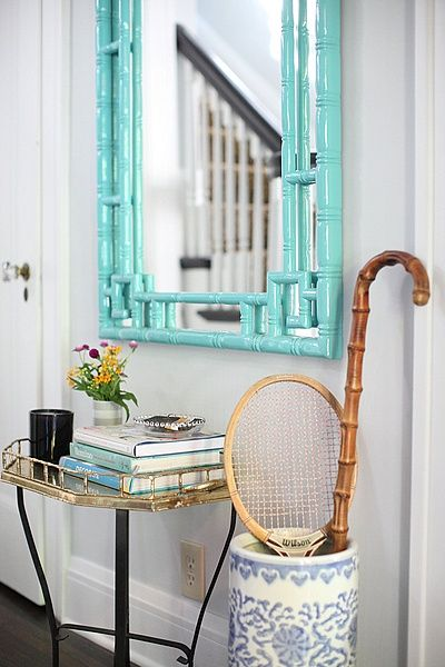 Chinoiserie Chic: Sunday Inspiration - The Small Chinoiserie Entryway