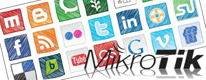 mikrotik block social media