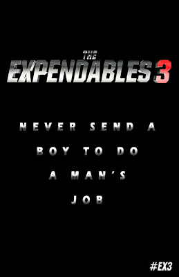 Teaser poster The Expendables 3