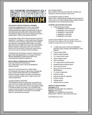 Battlefield 3-premium-DLC-package