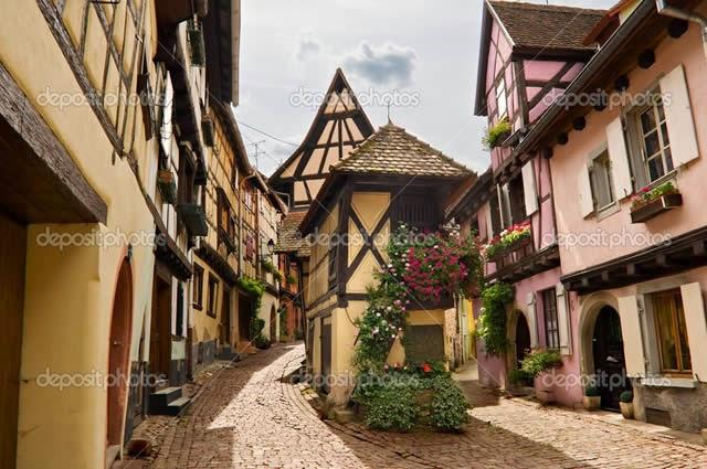 Eguisheim Alsace France
