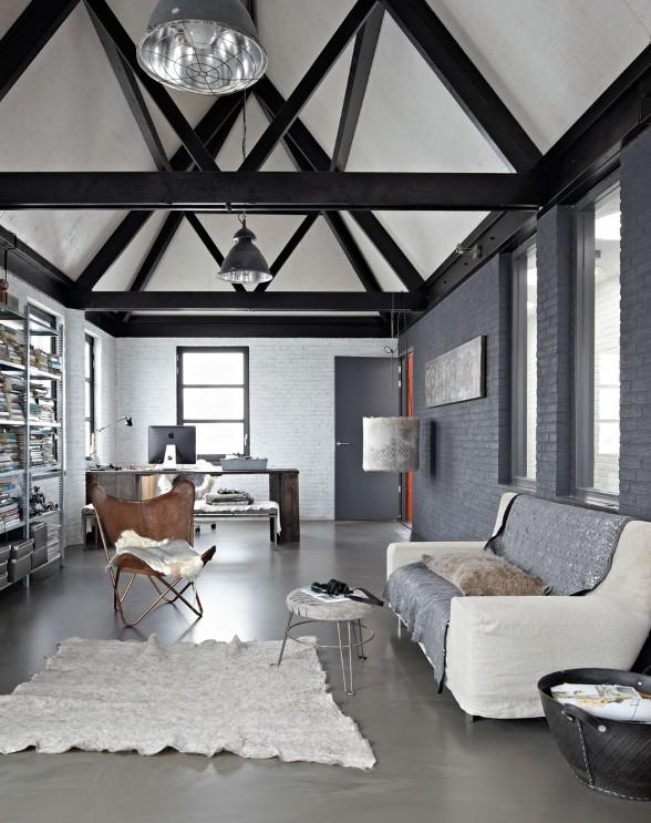 espacio de estética industrial