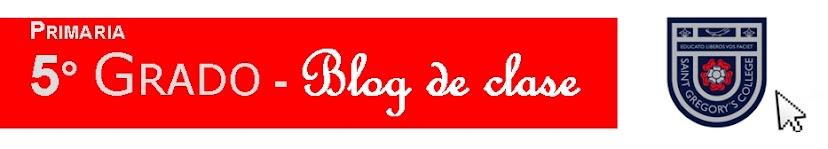 5° Grado - Blog de clase