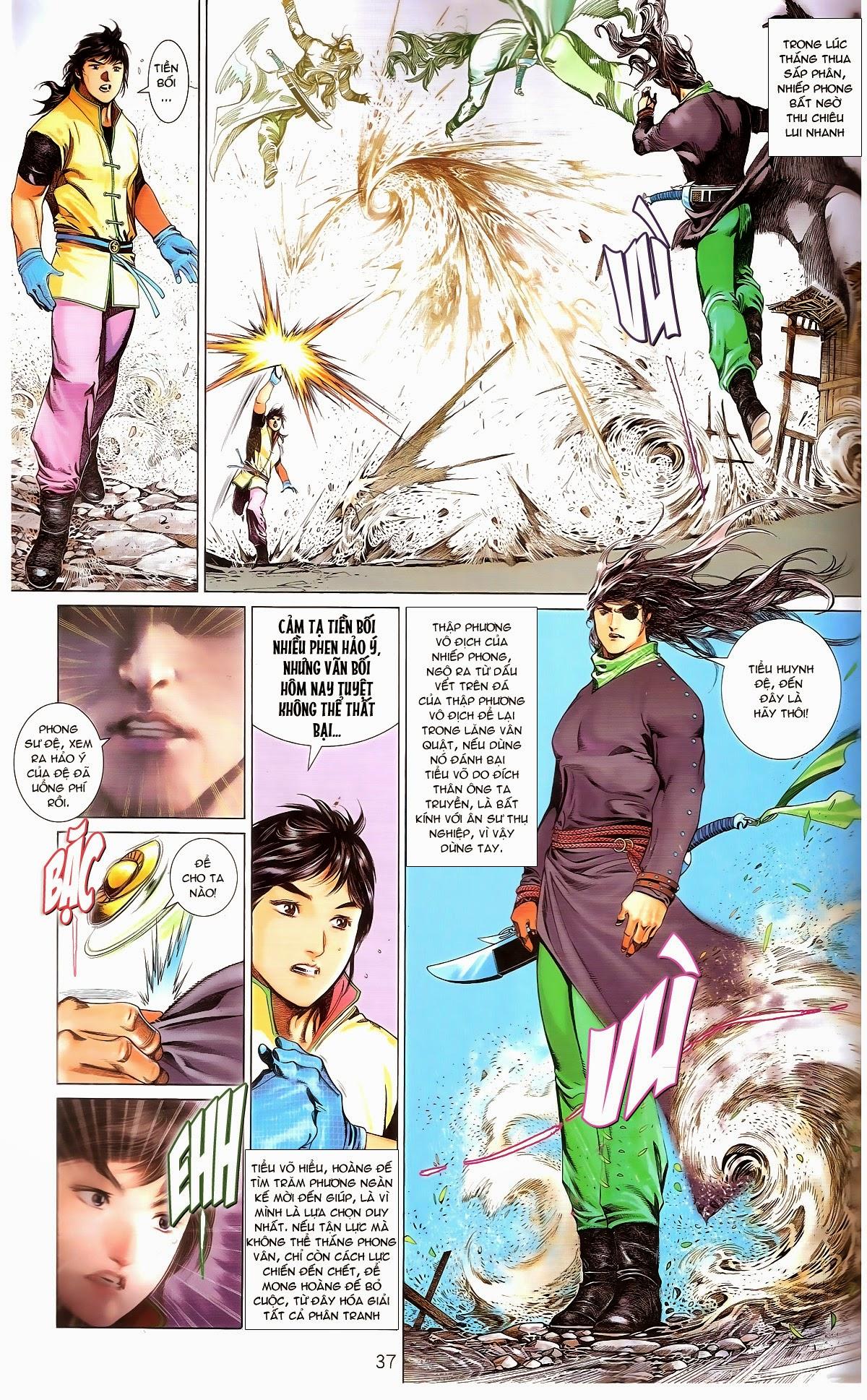 Phong Vân chap 674 – End Trang 39 - Mangak.info