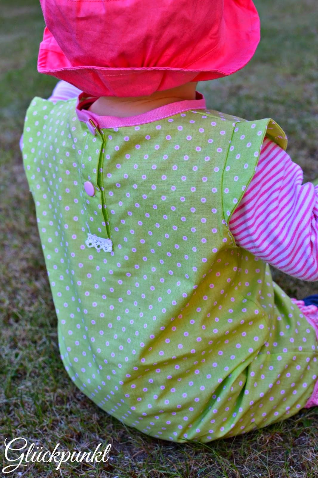 Jersey kleid baby freebook